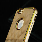 Luxury Genuine Leather Case Back Cover Case For Apple iPhone 5 5S SE RB1
