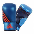 adidas Speed 100 Boxing Training Sparring Bag Gloves Blue