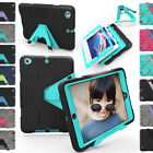 Shockproof Heavy Duty Hard Kickstand Cover For Apple iPad Mini 1 2 3 Tablet Case