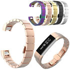 Stainless Steel Wristwatch Band Replacement Bracelet  For Fitbit Alta Tracker