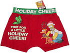 """NEW SIMPSONS HOMER HOLIDAY CHEER BOXER BRIEF TRUNK US L / EUR 52 (32""""-34"""")"""