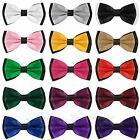 NEW FASHION MENS ADJUSTABLE POLYESTER WEDDING PROM PARTY BOW TIE