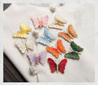 Butterfly Embroidered Iron On Applique Patch