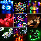 Battery Powered LED Fairy String Light Outdoor Wedding Christmas Party Lamp IP65