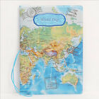 Travel Passort Map Patterns Passport Holder Cover ID Credit Card Holder Bags