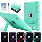 Hybrid Shockproof Heavy Duty Rubber Kickstand Case Cover For Apple iPad Mini 4