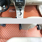 Interior Floor Mats & Carpets Foot Pads For Toyota Camry 2012-2016 XV50
