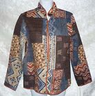 Alfred Dunner Womens Jackets Maditeranea Cotton open front multi size 8 NEW