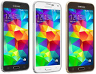 Samsung Galaxy S5 G900V 16GB 16MP Unlocked 4G LTE Smartphone - White/Black/Gold