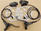 2017 REDNECK SPORTS MTB F+R HYDRAULIC DISC BRAKES 160mm ROTORS,  READY TO FIT !
