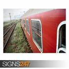 ROMANIAN OLD TRAIN (AB033) TRAIN POSTER - Photo Poster Print Art A0 A1 A2 A3 A4
