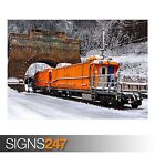 GERMAN RAILWAYS (AB031) TRAIN POSTER - Photo Picture Poster Print Art A0 to A4