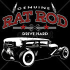 Genuine Rat Rod Old School Classic Car Auto Racing T-Shirt Tee