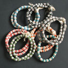 African Beads Krobo Ghana Recycled Glass Tubes 11 mm Jewellery and Crafts