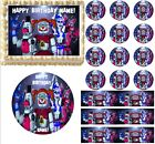 FIVE NIGHTS AT FREDDY'S Sister Location Edible Cake Topper Image Ballora Cake