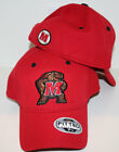 Maryland Terps Red DHS Fitted Hat by Top of the World
