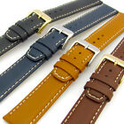 Fine Quality Padded Calf Leather Watch Band by Condor Contrast Stitched 615R