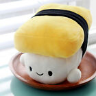 Cute Funny Decorative Pillow Cushion Tamagoyaki Egg Sushi Soft Stuffed Plush Toy