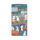 For Huawei P8 P9 Lite Cell Phone Case Soft TPU Back Cover Skins Mate 7 Cats Play