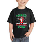 Dabbin' Through The Snow Christmas Ugly Sweater Dabbing CHILDTEE T-Shirt