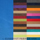 """DISCOUNT FABRIC FAUX LEATHER VINYL UPHOLSTERY - 31 COLORS - 54""""W - FREE SHIPPING"""