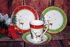 SPODE CHRISTMAS JUBILEE Reindeer Tree Gifts - PLATES - MUGS - BOWLS NEW