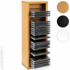 32 CD DVD Rack Wall Shelf Stand Media Storage Display Unit Video Wall Mounted