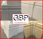 UPVC Skirting Board Cover, 100mm & 150mm, Corners & Joints Available