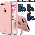 For Apple iPhone 7 / 7 Plus Hidden Magnetic Kickstand Slim Hybrid TPU Case Cover