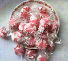 Sugar Free Peppermint Starlight Mints Hard Candy Disks Single Wrap 1/2 to 20 Lbs