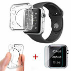 Hot Sale Tempered Glass Screen Protector&TPU Case For Apple Watch iWatch 38/42mm