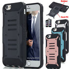 Shockproof Armor Hybrid Rugged Protective Case Cover For Apple iPhone 6 6S Plus