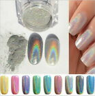 Fashion Mirror Chrome Effect Nail Powder Pigment Nail Art Glitter