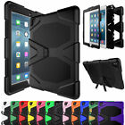 Shockproof Hybrid Hard Case Protective Cover Stand For iPad 2 3 4 Mini 1234 Pro