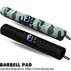 Barbell Pad Gel Supports Squat Olympic Bar Weight Lifting Pull Up Gripper
