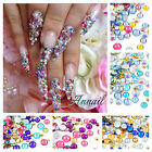 Mixed Rhinestones Quality Flat Back Diamante Gems For Nail Art Makeup Craft