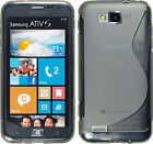 "New Premium Soft TPU Gel Case for ""Telus"" & ""Bell"" Samsung ATIV S"