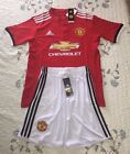 Manchester United Adidas 2016/2017 Soccer W/ Jersey Short US SELLER - Adult Size