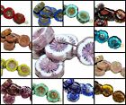 CHOOSE COLOR! 6pcs 12mm Table Cut Flower Beads Czech Glass $3.73 USD on eBay