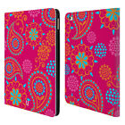 HEAD CASE DESIGNS PSYCHEDELIC PAISLEY LEATHER BOOK CASE FOR APPLE iPAD AIR 2
