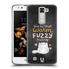 HEAD CASE DESIGNS MOONSTRUCK AND BEWILDERED SOFT GEL CASE FOR LG K8 / PHOENIX 2