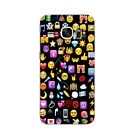 For Samsung Galaxy S6 S7 C7 Edge Case Soft TPU Back Phone Cover Emoticon Gifts