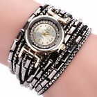 Womens Girls Leisure fashion Quartz Bracelet Watches Crystal Diamond Wrist Watch