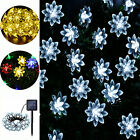 Solar String Lights 30 LED Flower 19ft Waterproof Party Xmas Room Tree Decor