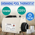 50MM HOT TUB SPA HEATER HOT TUB TEMPERATURE CONTROL WATER HEATER FREE WARRANTY