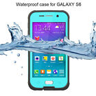 SHOCKPROOF WATERPROOF PROOF CASE COVER FOR SAMSUNG GALAXY S4 S5 S6 S4 MINI