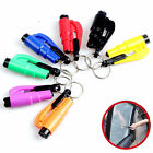 Mini Safety Keychain Car Emergency Rescue Glass Breaker Hammer Escape Tool New Q