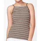 Julia Cami Olive Multi Stripe - Betty Basics