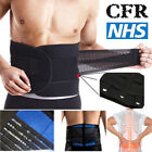 Double Pull Breathable Lumbar Lower Bad Back Pain Posture Support Belt Brace JF