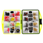 NEW Assorted Tackle Box Jig Swivels Clamp Hooks Fishing Accessories Outdoor